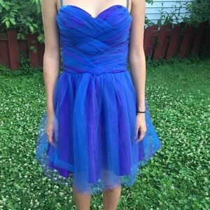Strapless Tule Party Dress